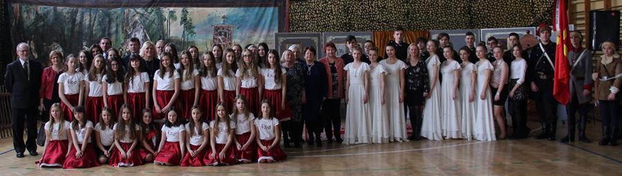 Akademia z okazji 155. rocznicy Bitwy pod Małogoszczem